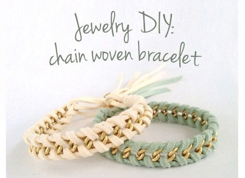 Yesmissy-chain-woven-bracelet
