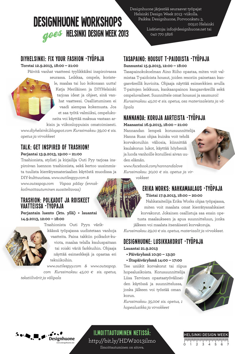 DesignhuoneHelsinkiDesignWeek2013